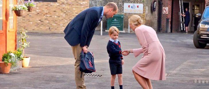 Los mocasines de Jorge de Cambridge, un éxito de ventas