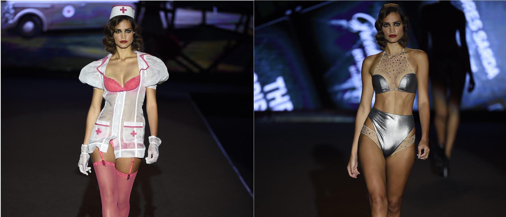 El glamour de los años 40' se sube a la Madrid Fashion Week con Andrés Sardá