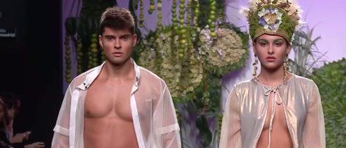 Francis Montesinos pone latina a la Madrid Fashion Week con su colección para primavera/verano 2018