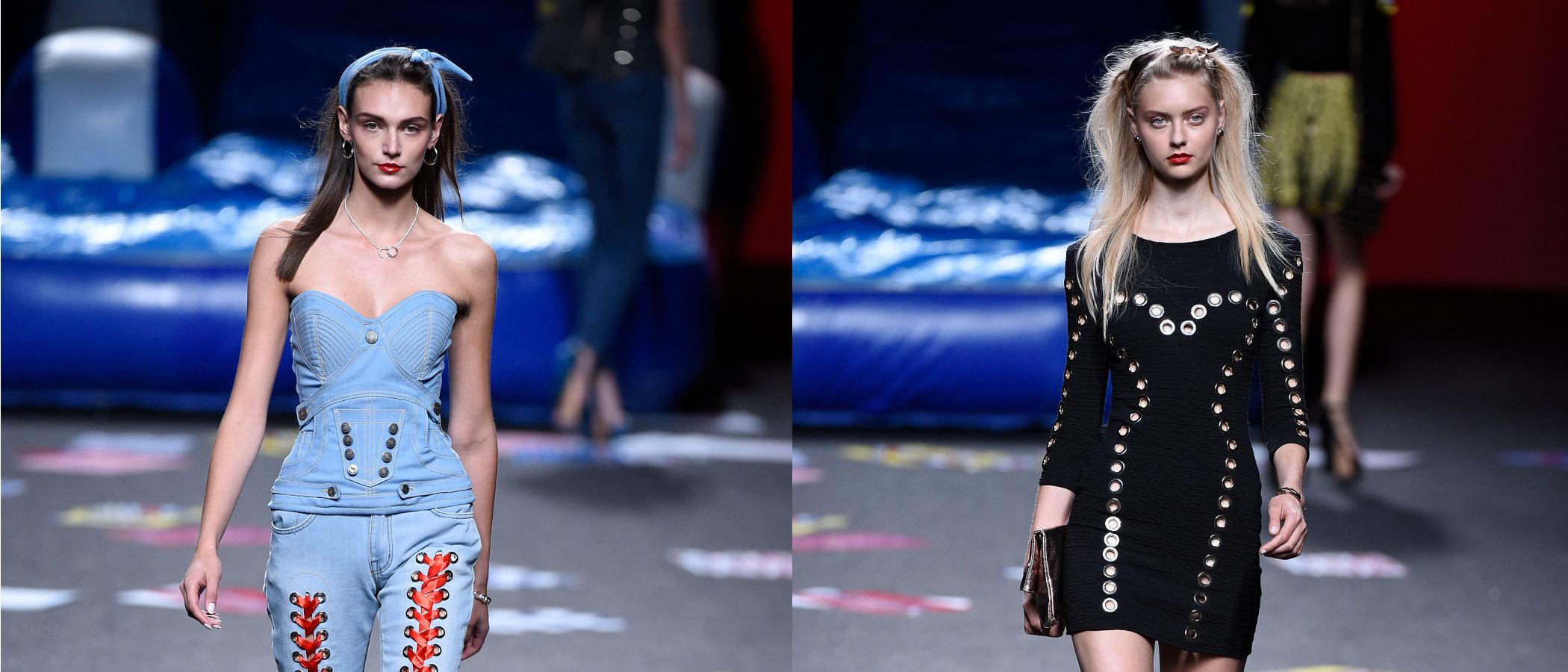 Denim y años 90 en la colección primavera/verano 2018 de Maya Hansen para Madrid Fashion Week