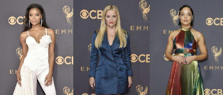 Ajiona Alexus, Reese Witherspoon y Tessa Thompson, las peor vestidas de los Emmy 2017