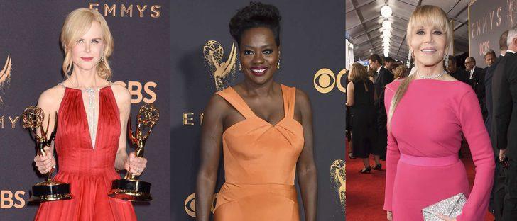 Nicole Kidman, Viola Davis y Jane Fonda, entre las mejor vestidas de los Premios Emmy 2017