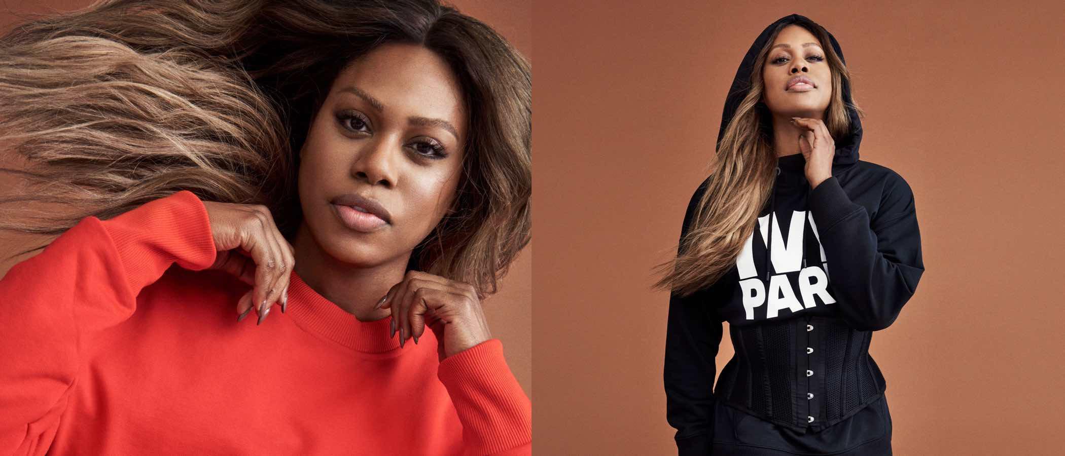 Beyoncé ficha a Laverne Cox como embajadora de su colección otoño/invierno 2017/2018 de Ivy Park