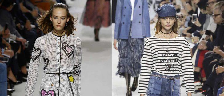 Dior reivindica espacio para las mujeres artistas en su desfile de Paris Fashion Week