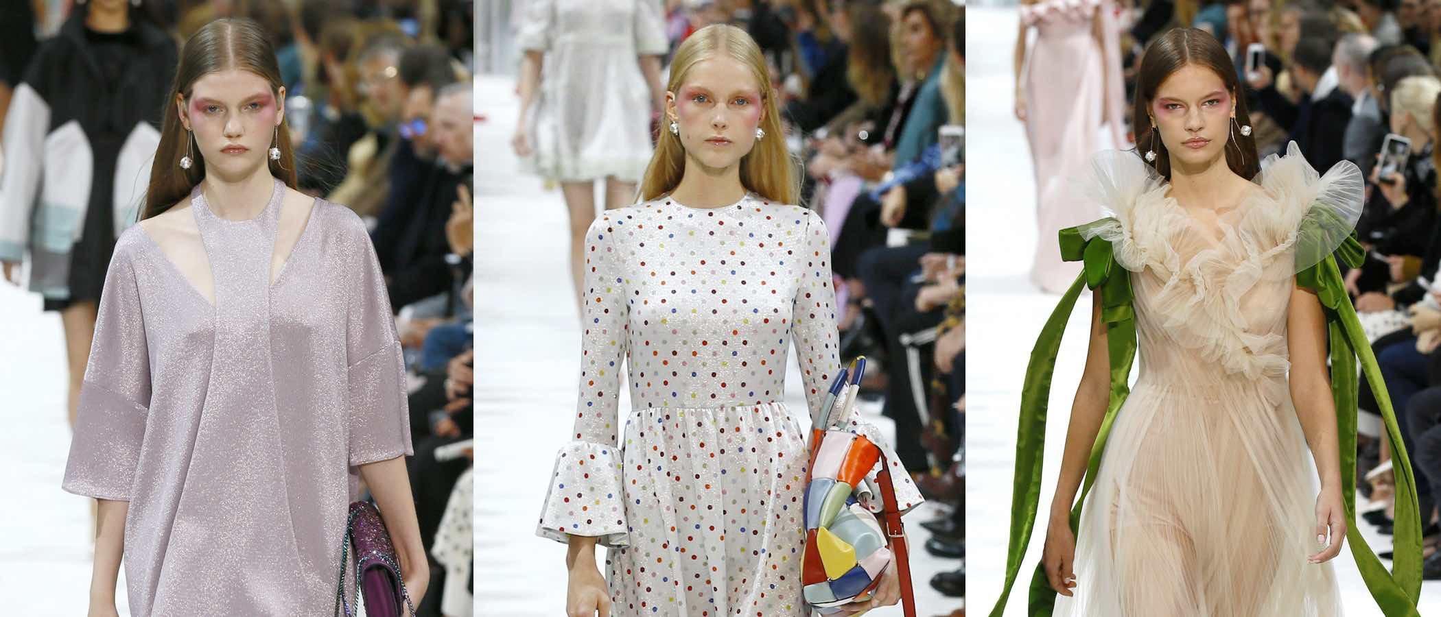 Valentino sube a la Paris Fashion Week una colección cargada de detalles para todos los gustos
