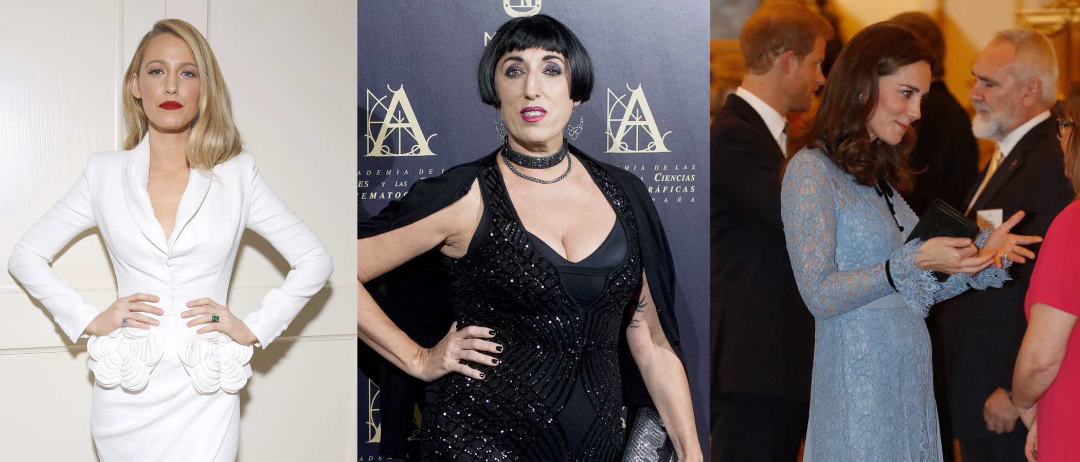 Blake Lively, Rossy de Palma y Kate Middleton, entre las mejor vestidas de la semana