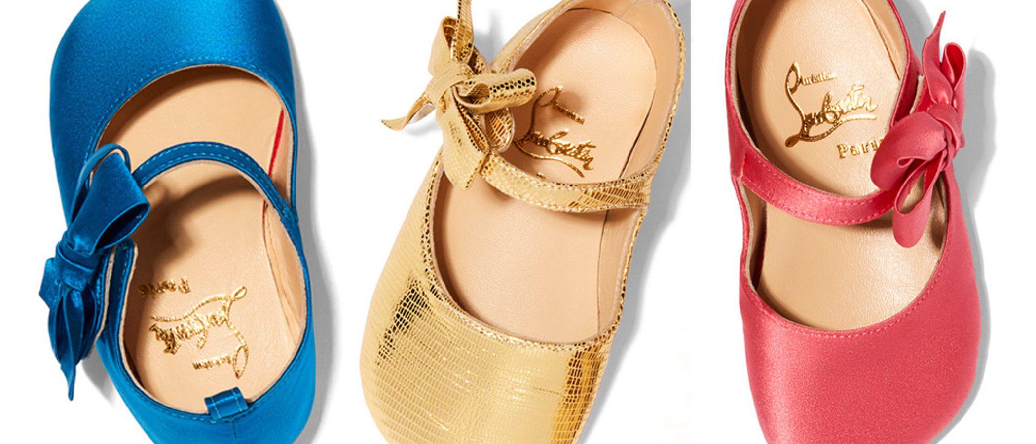 Gwyneth Paltrow diseña los 'Loubibaby', los zapatos de Louboutin para los bebés más chic