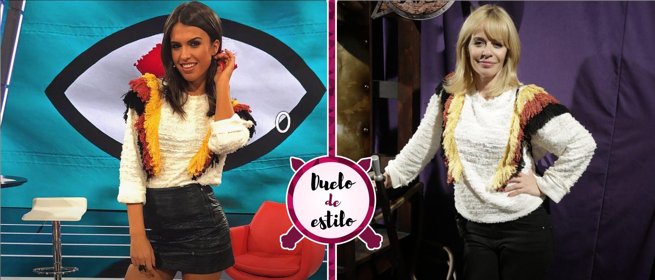 Sofía Suescun y María Adánez apuestan por la misma sudadera de Zara. ¿Quién la lució mejor?