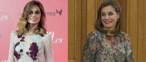 La Reina Letizia y Norma Ruiz con sus vestidos de flores se convierte en las mejor vestidas de la semana