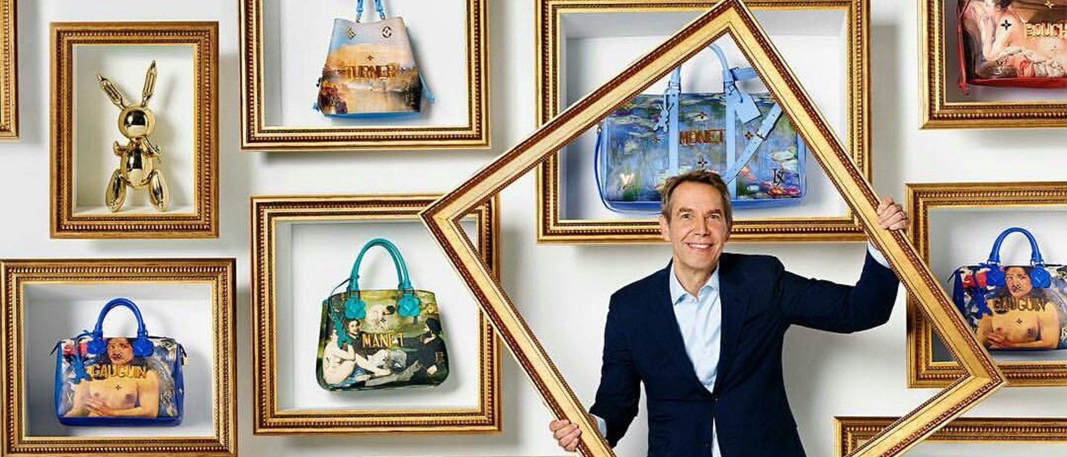 Moda y arte se funden de la mano de Louis Vuitton y Jeff Koons