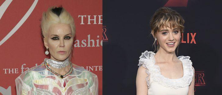 Daphne Guinness y Natalia Dyer se convierten en las peor vestidas de la semana