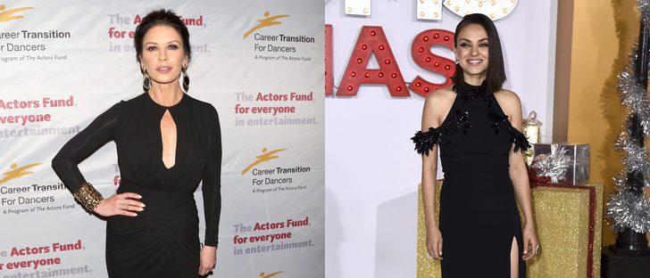 Catherine Zeta-Jones y Mila Kunis se coronan como las mejor vestidas de la semana
