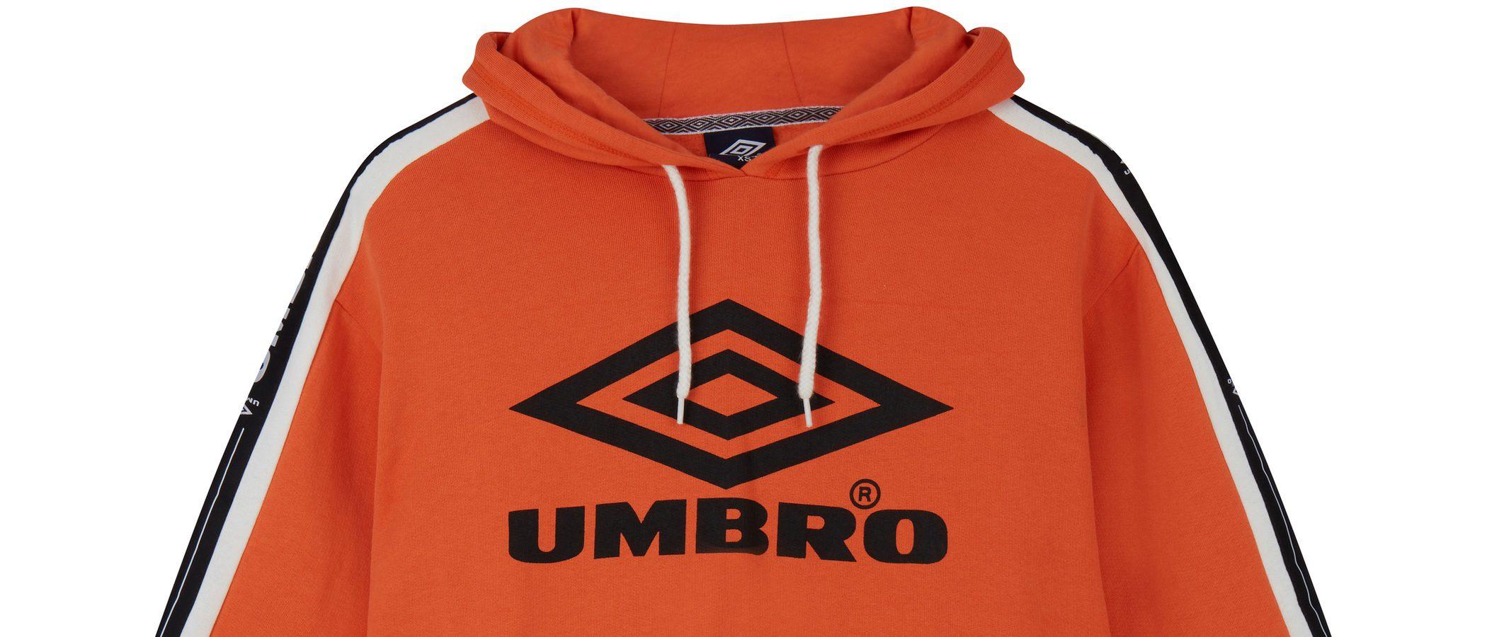 Únete al streetwear con la nueva colección de Asos en colaboración con Umbro