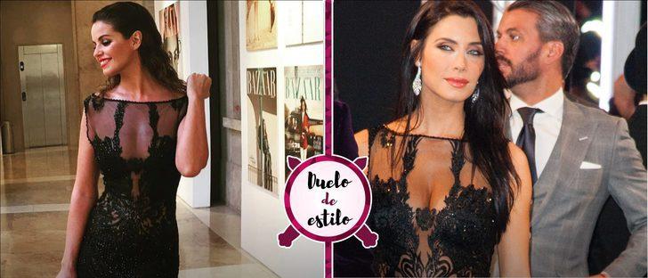 Marta Torné y Pilar Rubio escogen el mismo espectacular vestido. ¿A quién le queda mejor?