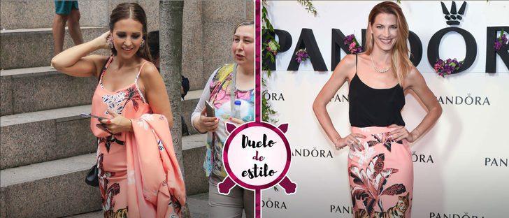 Paula Echevarría y Laura Sánchez apuestan por la misma falda de Dolores Promesas