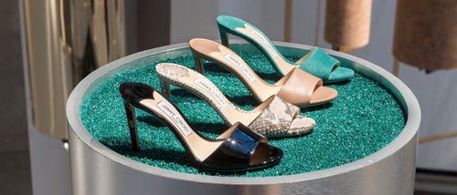 El glamour se presenta en forma de zapatos para Jimmy Choo