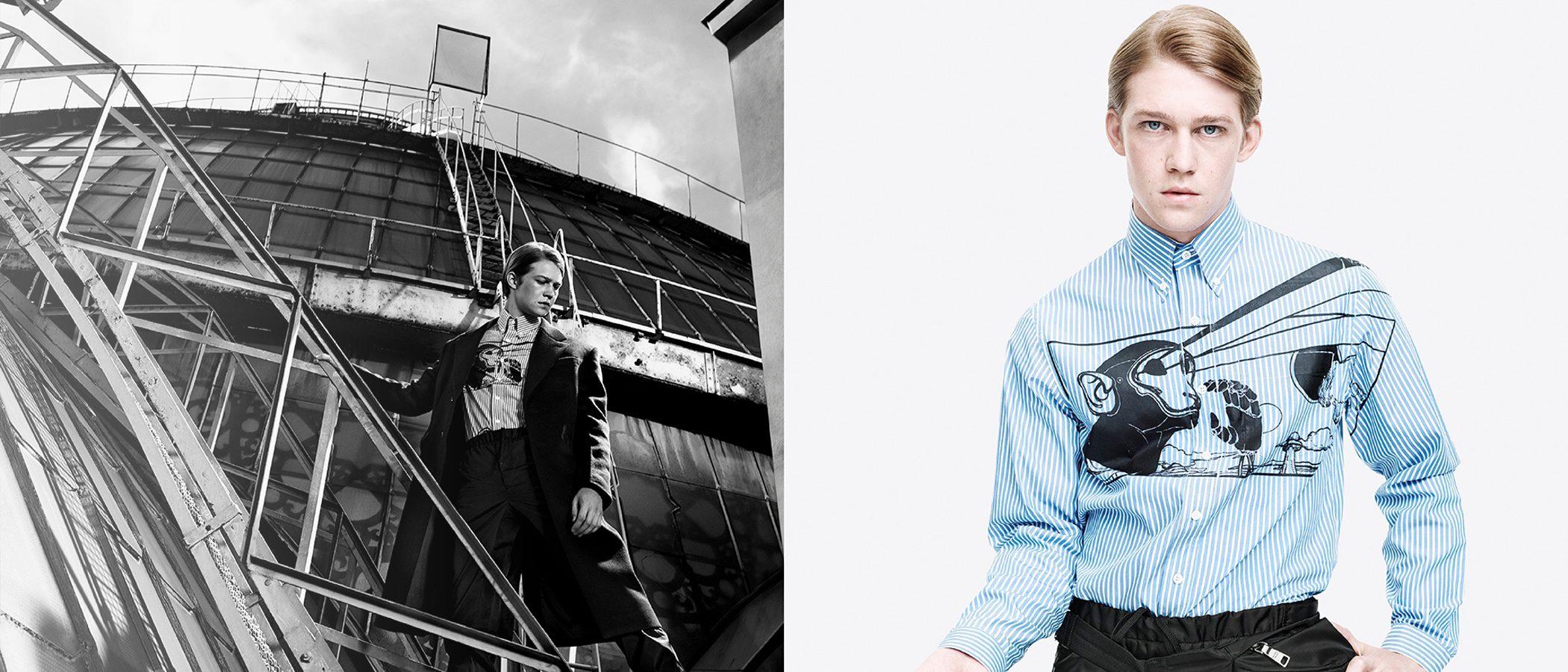 Joe Alwyn, el novio de Tylor Swift, se convierte en embajador de Prada