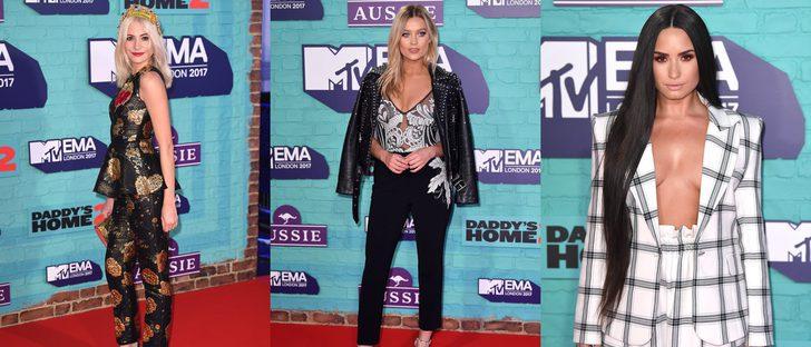 Pixie Lott y Laura Whitmore, entre las mejor vestidas de los MTV EMA 2017