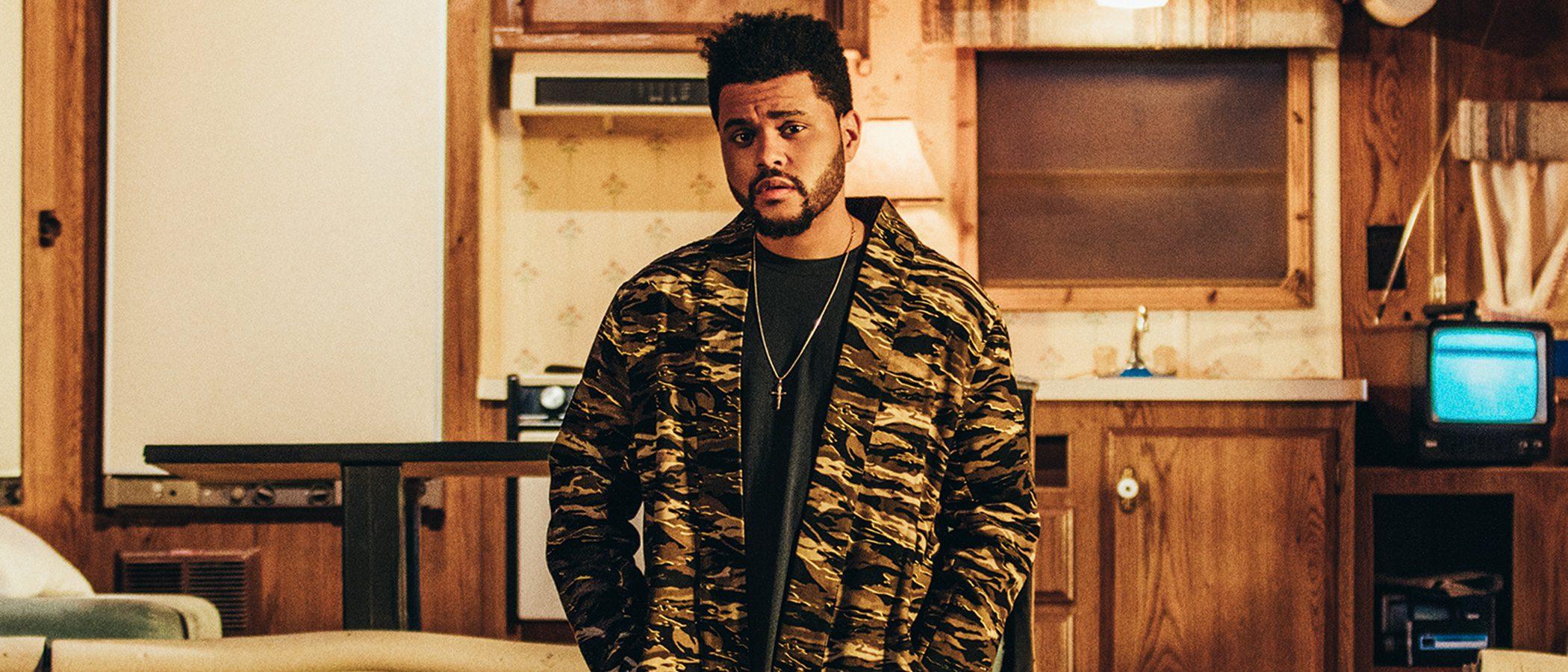 The Weeknd apuesta por el print militar en su tercer lanzamiento con Puma