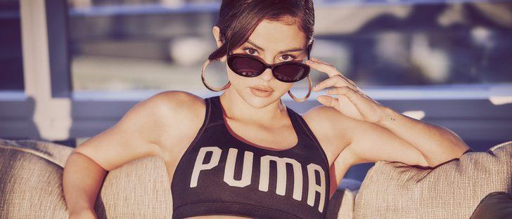 Por fin podemos ver a Selena Gomez como nueva imagen en la campaña de Puma