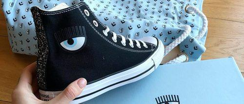 Chiara Ferragni diseña una colección cápsula de zapatillas para Converse