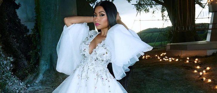 Nicki Minaj, en un cuento de hadas para la campaña de H&M de Navidad 2017