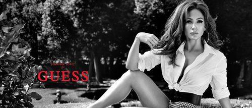 Primeras imágenes de Jennifer Lopez como nueva embajadora de Guess
