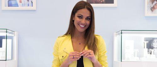 Lara Álvarez presenta su colección con Luxenter en Madrid