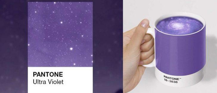 Pantone revela el ultra violet como el color de 2018