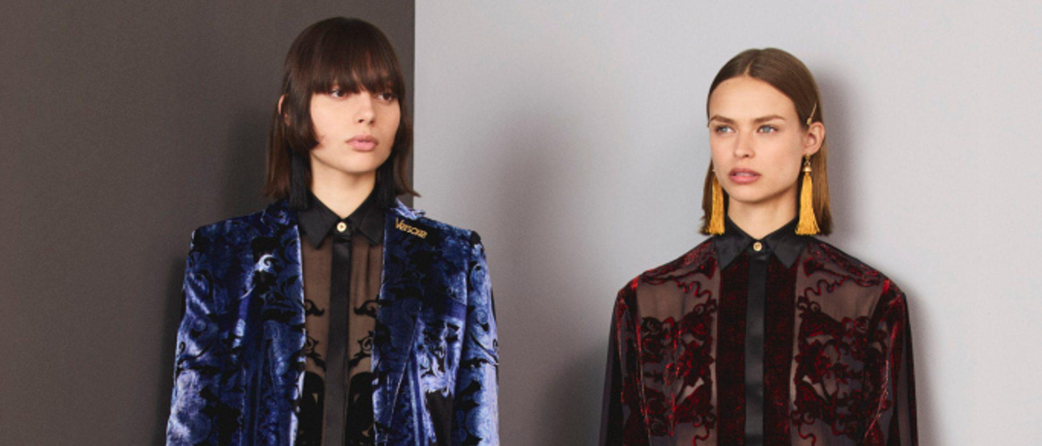 Versace se inspira en sus raíces para su colección Pre-Fall 2018