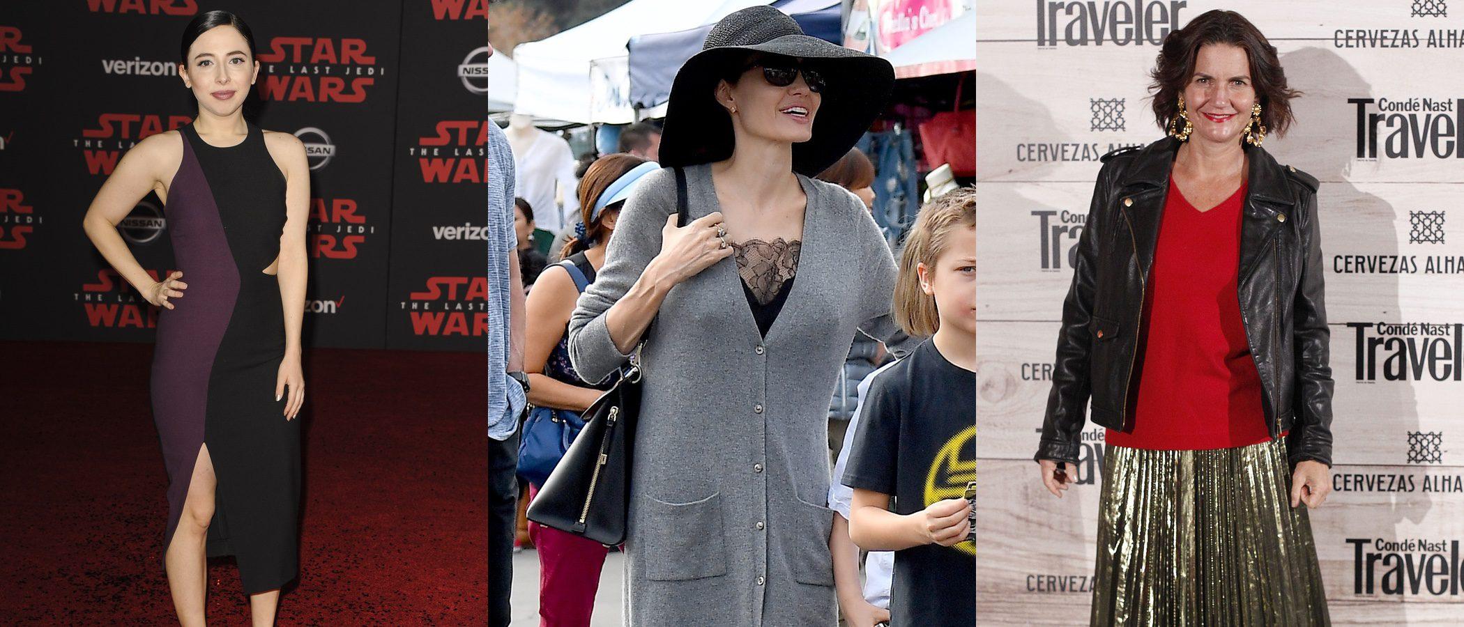 Angelina Jolie y Samantha Vallejo, entre las peor vestidas de la semana