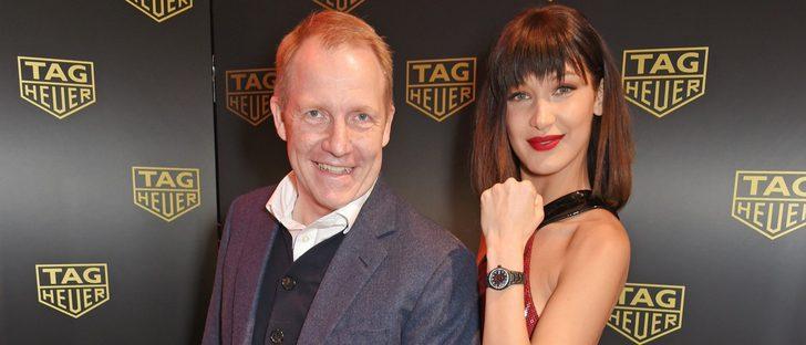 Tag Heuer y Bella Hadid presentan el nuevo reloj inspirado en la supermodelo