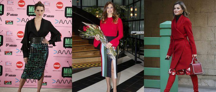 La Reina Letizia, Mariló Montero y Macarena Gómez, las mejor vestidas de la semana prenavideña
