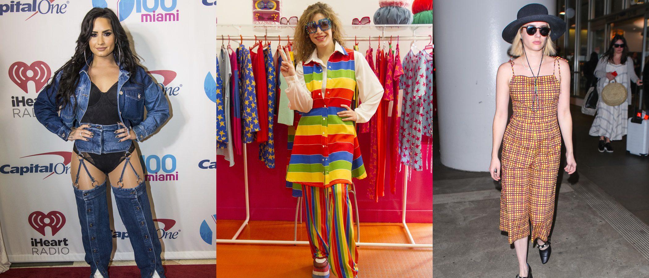 Demi Lovato, Cósima Rodríguez y Massiel, las peor vestidas de la semana prenavideña