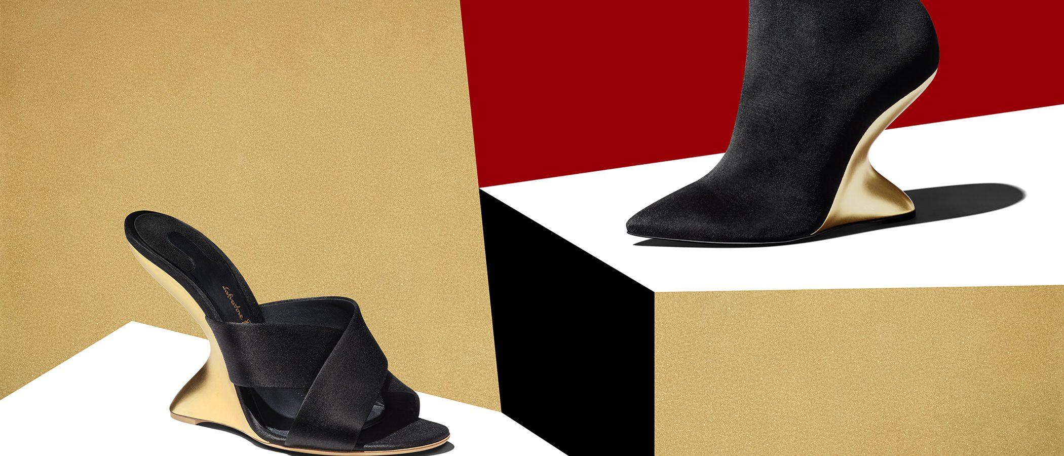 Elegancia en la nueva colección femenina para esta Navidad de Salvatore Ferragamo