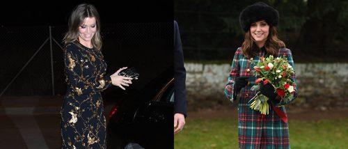 Nicol Kimpel y Kate Middleton entre las mejor vestidas de la última semana del año