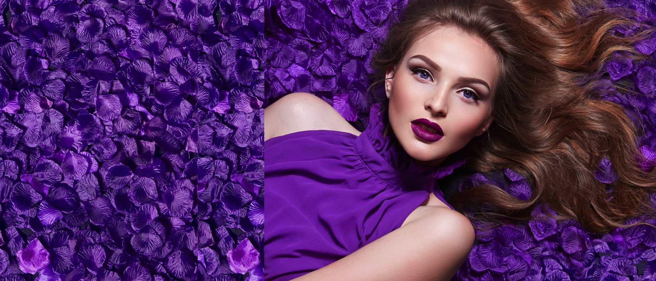 Cómo combinar el ultra violet, el color de 2018