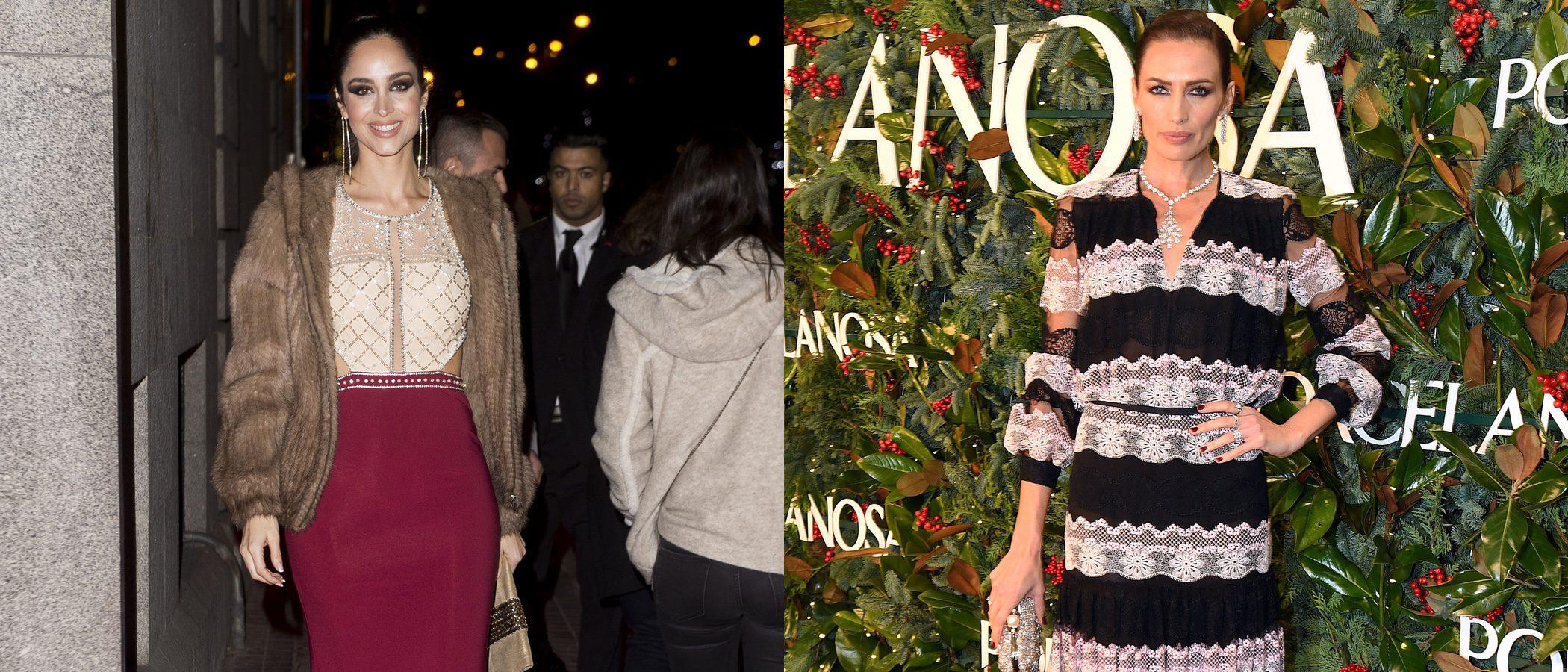 Lorena Van Heerde y Nieves Álvarez entre los peores looks de la última semana de 2017