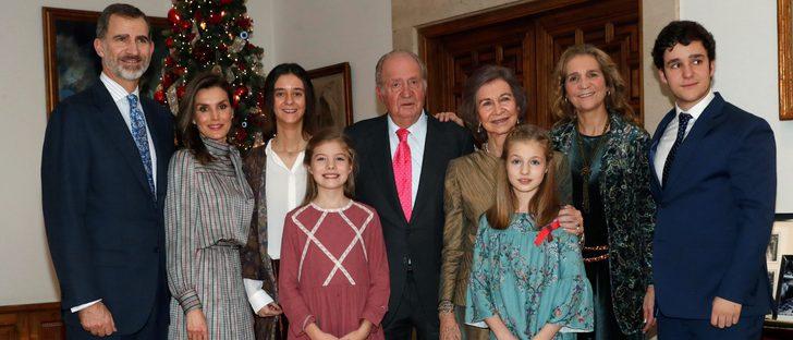 Agotado el vestido de Nanos que la Princesa Leonor al cumpleaños del Rey Juan Carlos