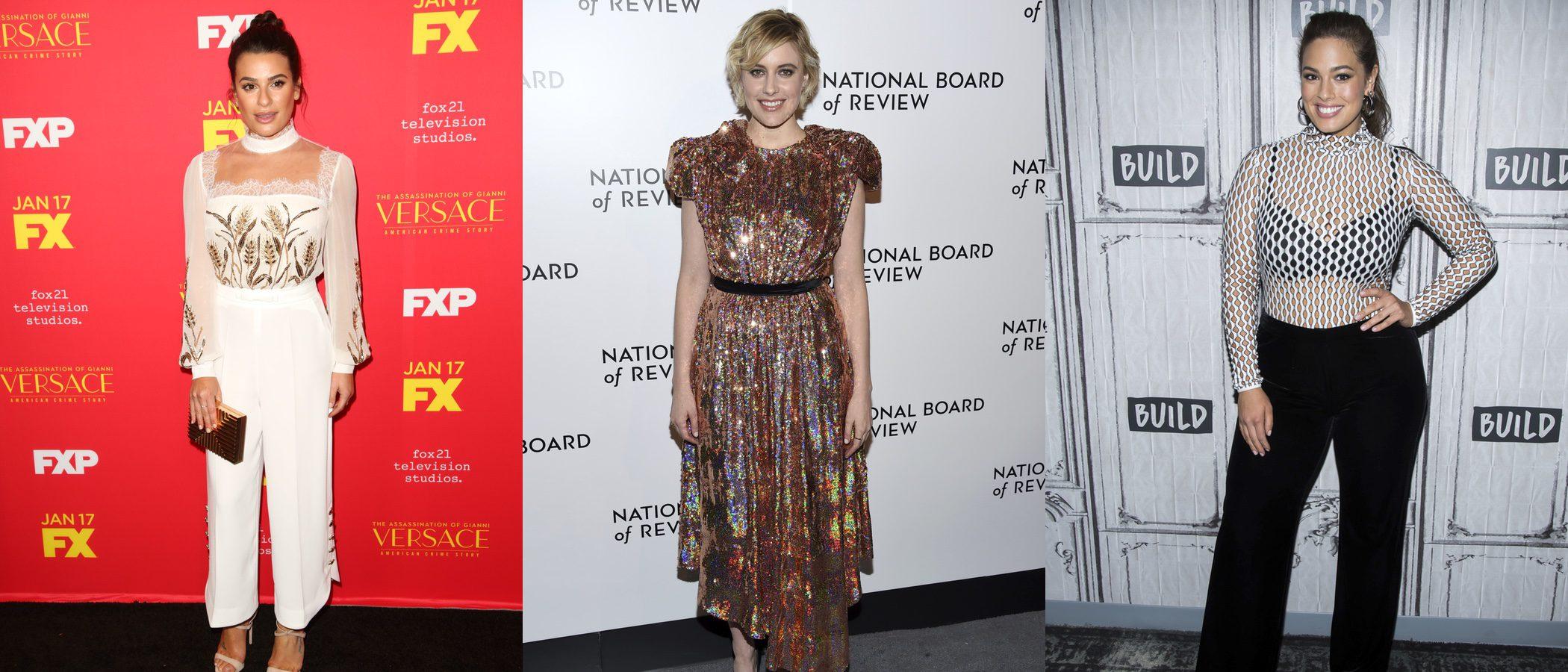 Lea Michele, Greta Gerwig y Ashley Graham se convierten en las peor vestidas de la semana