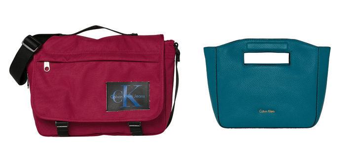 Calvin Klein opta por los colores mostaza y granate en su colección de accesorios para primavera 2018