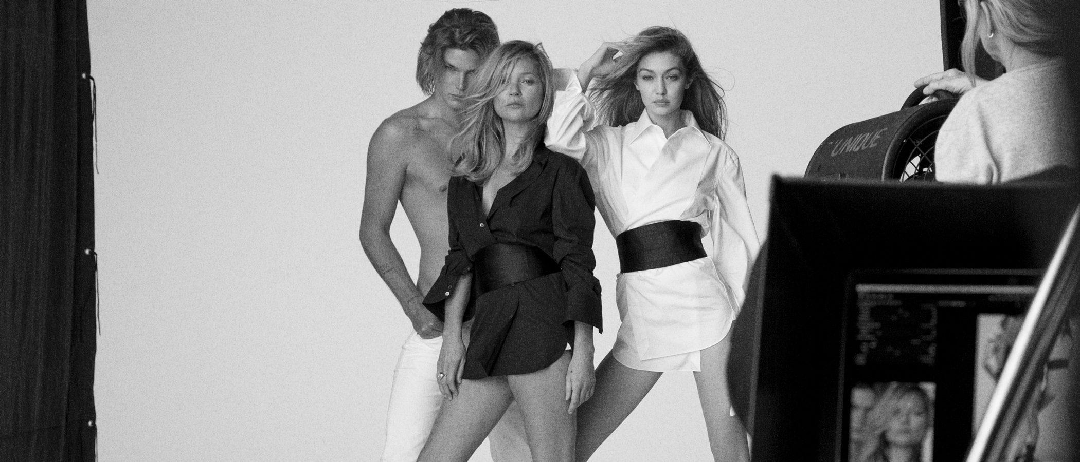 Stuart Weitzman reúne a Gigi Hadid y Kate Moss para su campaña primavera/verano 2018