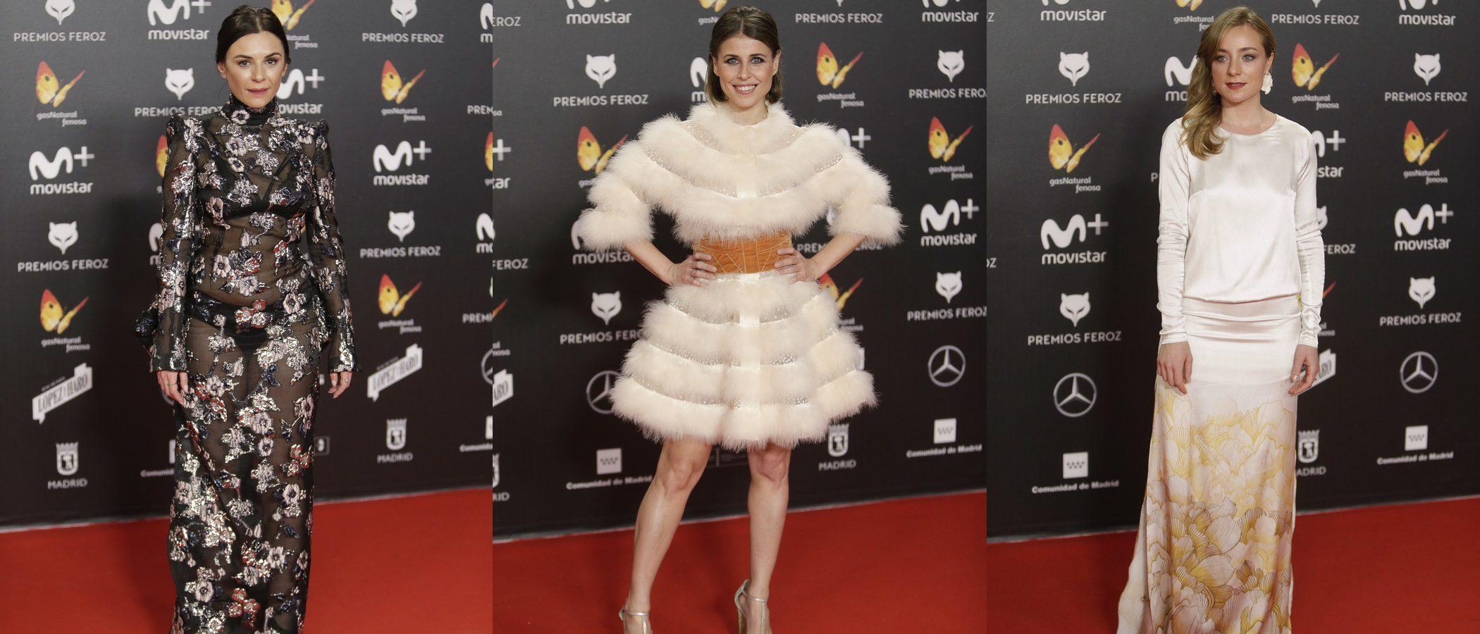 Miren Ibarguren, Ruth Llopis y Angela Cremonte entre las peor vestidas de los Premios Feroz 2018