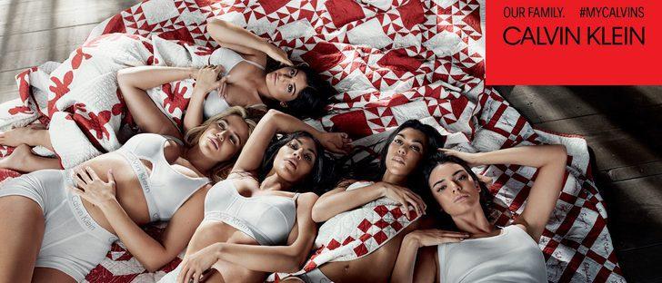 Calvin Klein lanza su nueva campaña primavera/verano 2018 protagonizada por las hermanas Kardashian