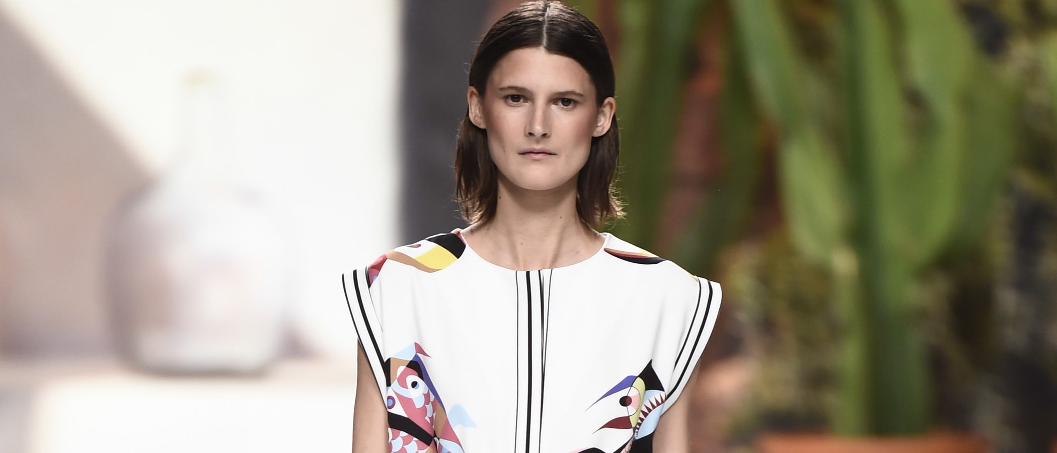 Roberto Verino plasma el mar en su colección otoño/invierno 2018/2019 en la Madrid Fashion Week