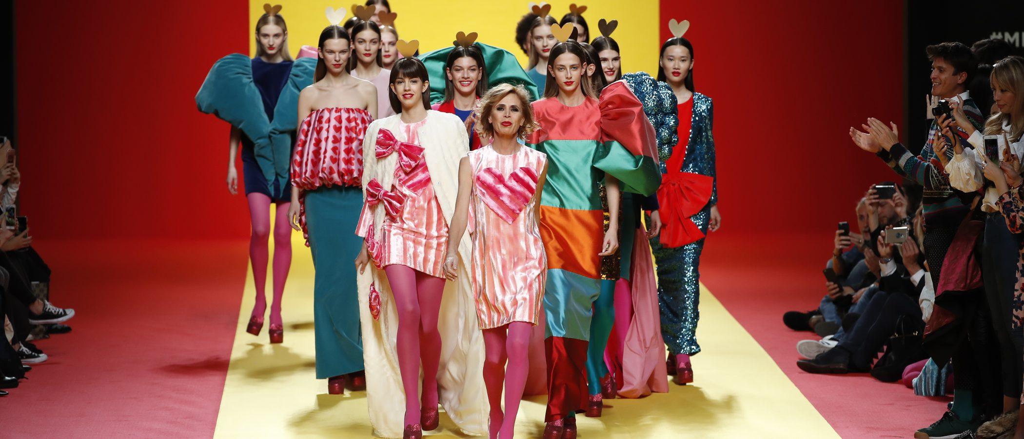 Ágatha Ruiz de la Prada rinde un homenaje a España sobre la Madrid Fashion Week