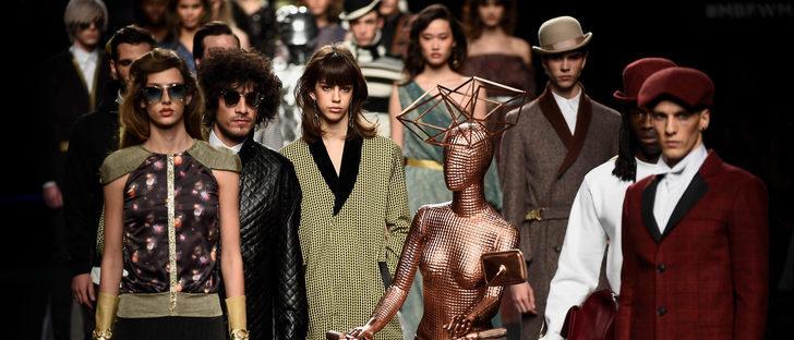 Ion Fiz convierte la Madrid Fashion Week en una discoteca de los años 70