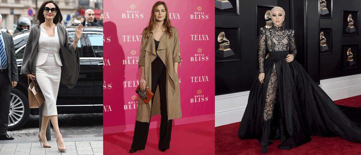 Angelina Jolie, Lady Gaga y Natalia Sánchez, entre las mejor vestidas de la semana