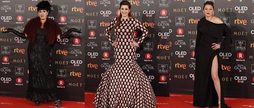 Rossy de Palma, Pepa Charro y Mariola Fuentes, entre las peor vestidas de los Premios Goya 2018