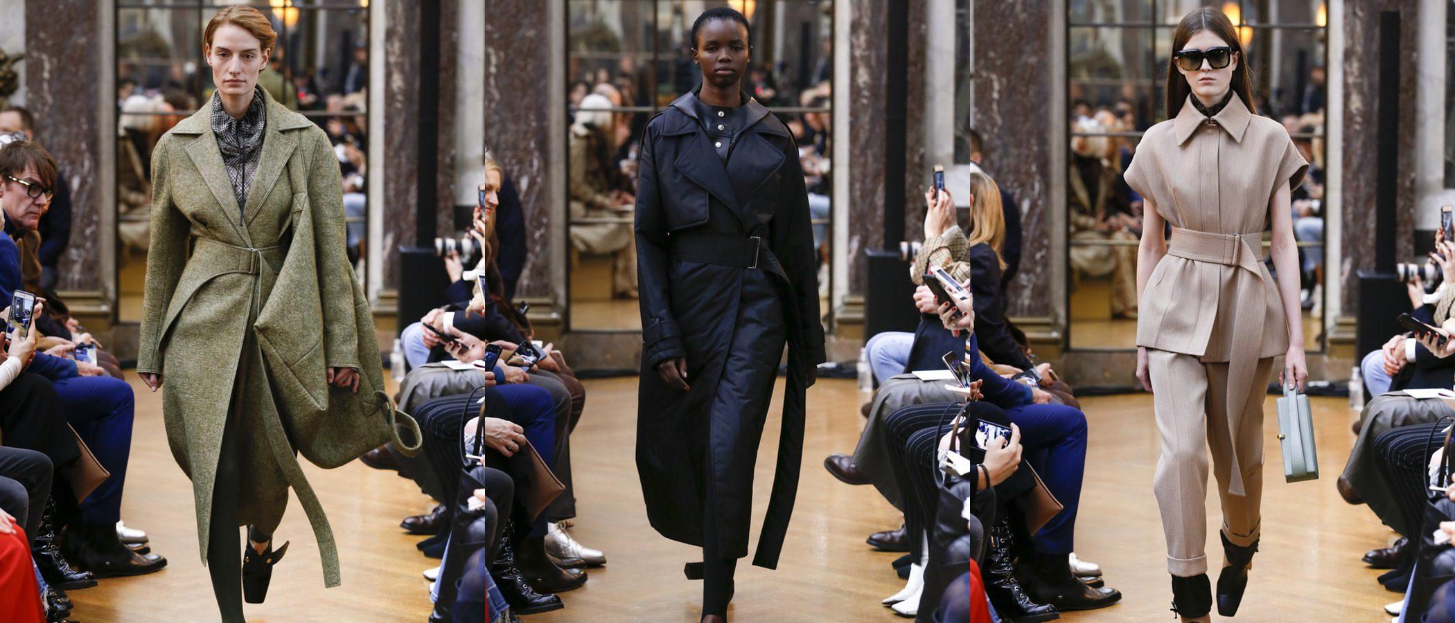 El minimalismo de la colección otoño/invierno 2018 de Victoria Beckham en la Nueva York Fashion Week